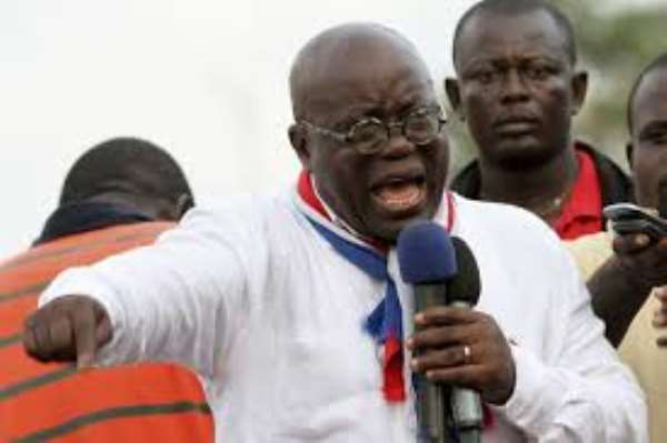 Akufo-Addo's Weak Campaign Message And Strategy