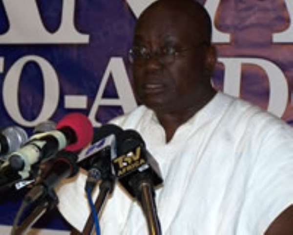 OPEN LETTER TO NANA ADDO DANQUAH AKUFO-ADDO FLAG BEARER ELECT OF THE NEW PATRIOTIC PARTY ACCRA, GHANA