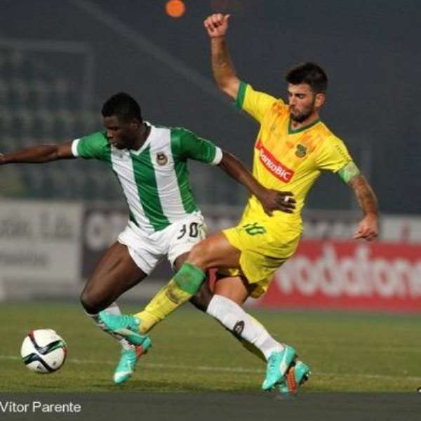 Alhassan Wakaso suffered an injury while in action for Rio Ave in Portugal