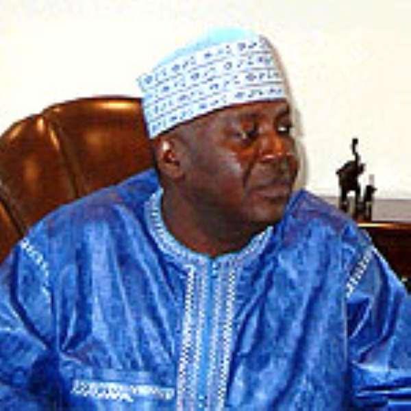 Vice President, Alhaji Aliu Mahama