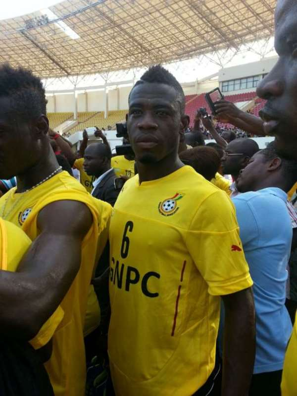 Let me play: Afriyie Acquah angry with Black Stars bench role