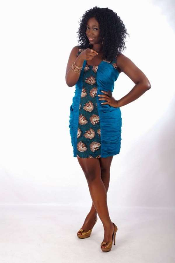Ghanaian's finest Ama K. Abebrese storms Nigeria for AMAA