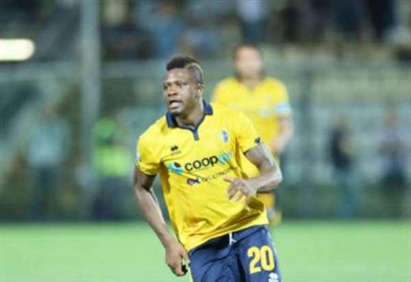 Amidu Salifu: Ghanaian midfielder scores for Modena n Bari stalemate