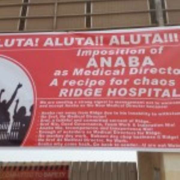 MoH Calls For Calm At Ridge Hospital