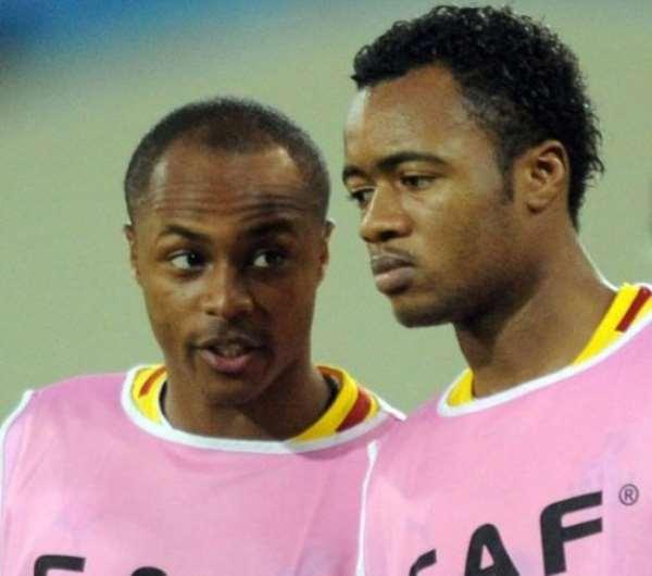 Andre and Jordan Ayew yet to write to Ghana FA to make Black Stars return