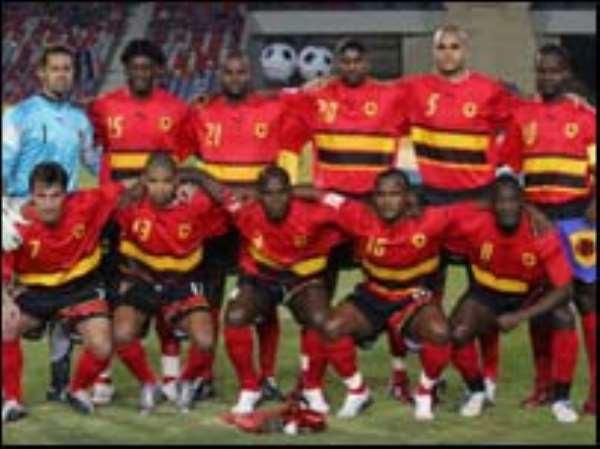 Angola coach stays positive