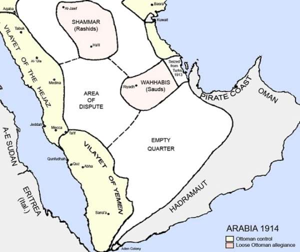 Treaty of Darin (1915): New Saudi Land Came in to Existence