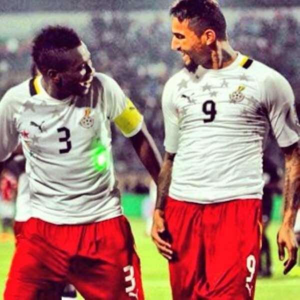 Asamoah Gyan is the leading scorer in the UAE top-flight