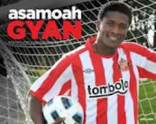 Gyan wins GUBA Best African Sports Personality Award