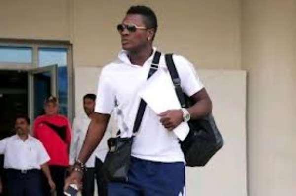 Asamoah Gyan set to leave the UAE