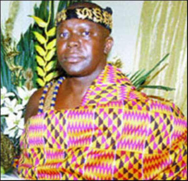 Otumfuo Cries Over Missing Stools