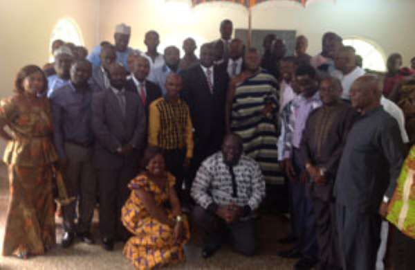 Assess Yourselves Otumfuo Tells DCEs