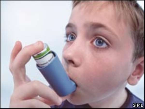 Does the method of conception affect asthma?