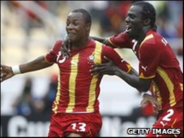 Black Stars are charged for the game