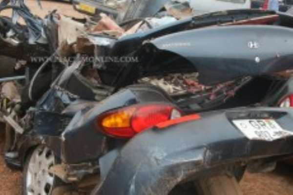 South Tongu District: 90% road accidents avoidable