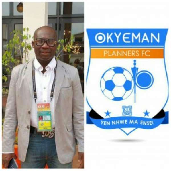 Ghana FA Vice President George Afriyie satisfied with the pre-season preparations of his club Planners FC