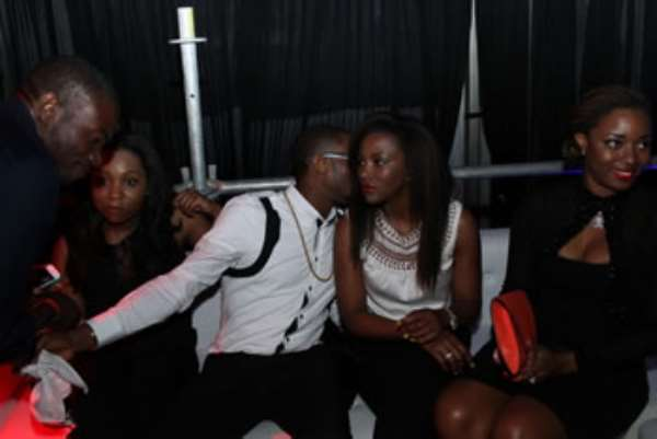 Photos: D'Banj And Genevieve Nnaji Spotted Together Again! Are They Back?