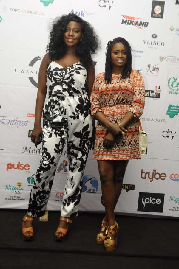 Abuja Turns Up for Stephanie Linus' DRY Movie Premiere