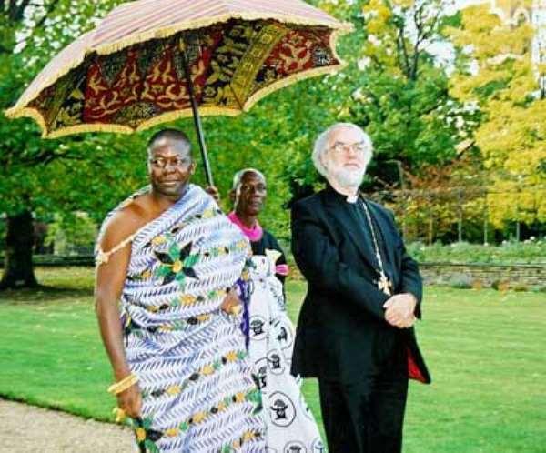 Archbishop Of Canterbury Prays For Ghana