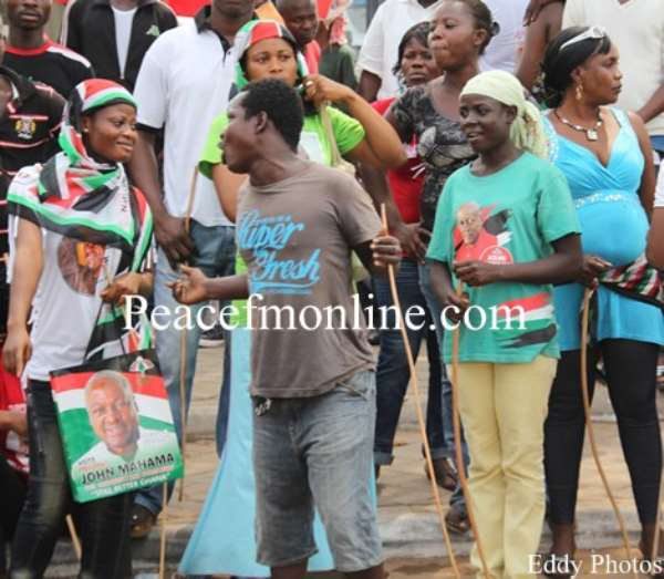 NDC Is Fante- And Ewe-Biased