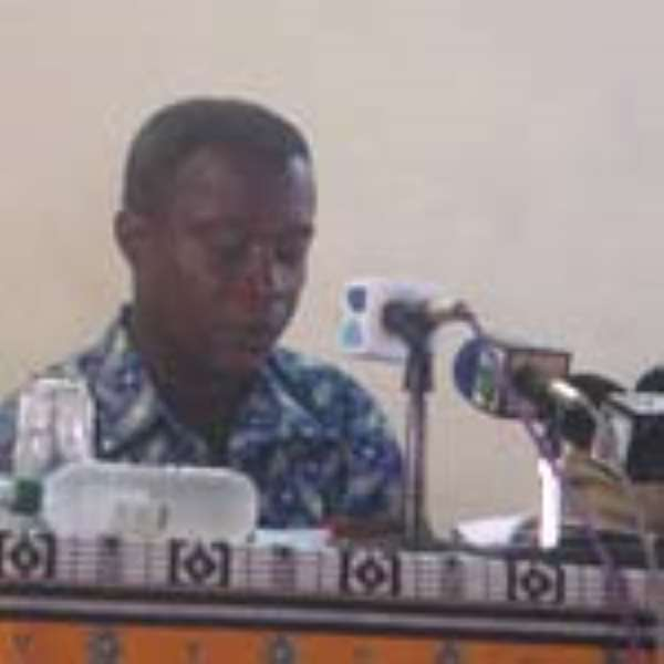 Minister for Finance and Economic Planning, Kwadwo Baah Wiredu
