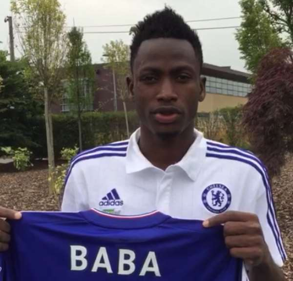 Baba Rahman joined Chelsea at the start of the season