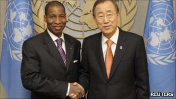 The UN's acceptance of Mr Bamba as ambassador solidifies its support for Mr Ouattara