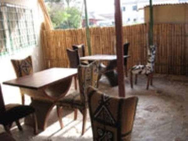 First organic restaurant in Ghana