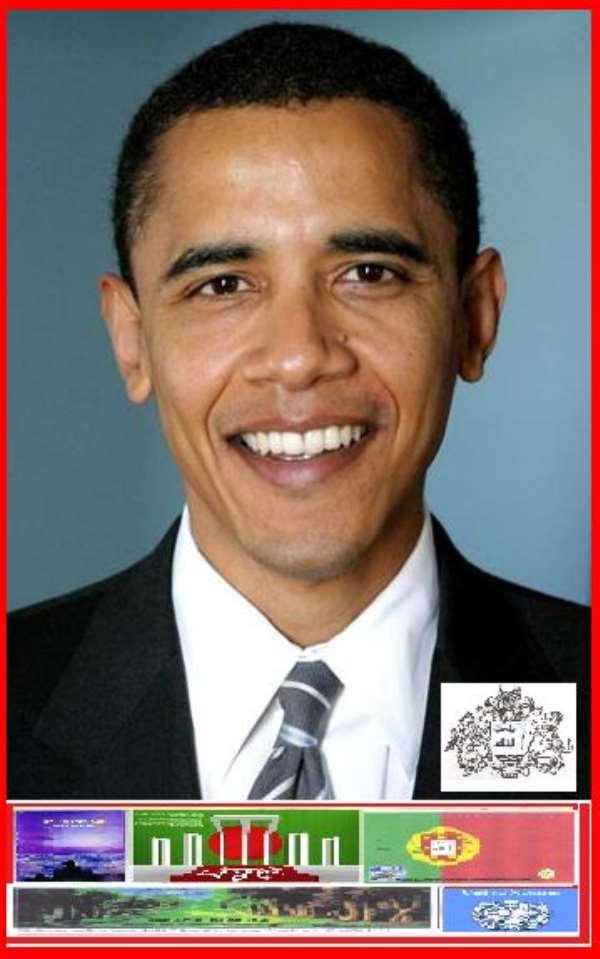 Hussein My Name President of U.S.A. America.By Abdul Haye Amin.
