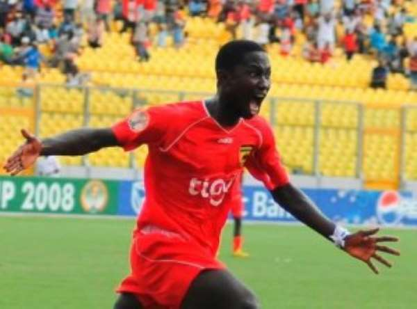 Eric Bekoe arrives in Takoradi; set to commence training tomorrow