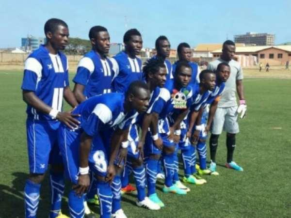 Berekum Chelsea defeated BA United in Berekum