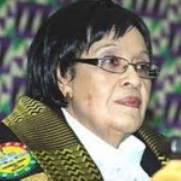 Mrs. Joyce Bamford-Addo, Speaker of Parliament