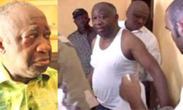 First photos of Gbagbo after his arrest