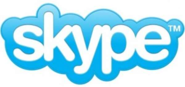 Around 20 million people a day use the Skype internet calls service