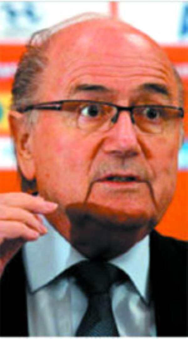 Sepp Blatter, FIFA Prez