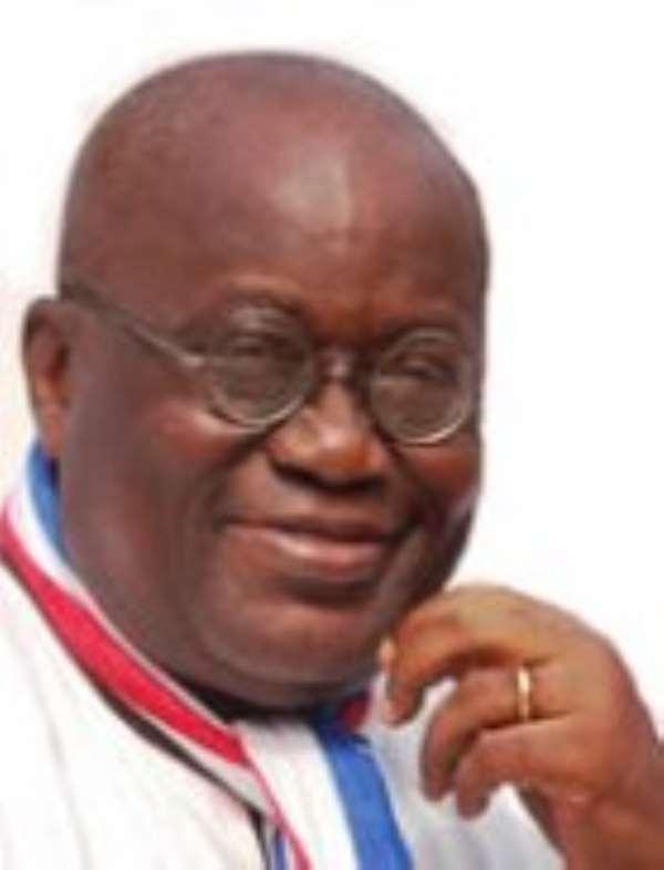Nana Addo Dankwa Akufo-Addo  -  NPP Flagbearer
