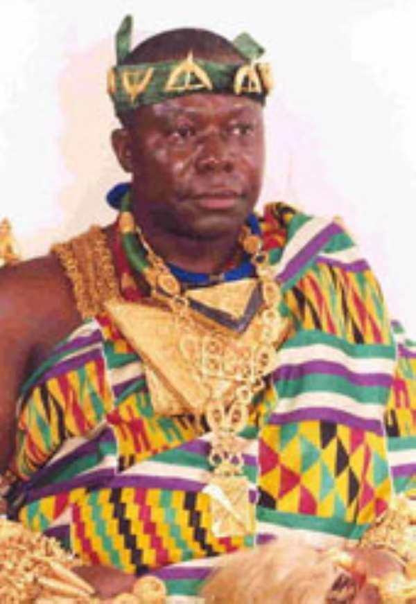Otumfuo marks  restoration of  Asante Confederacy … On Sunday January 31, 2010