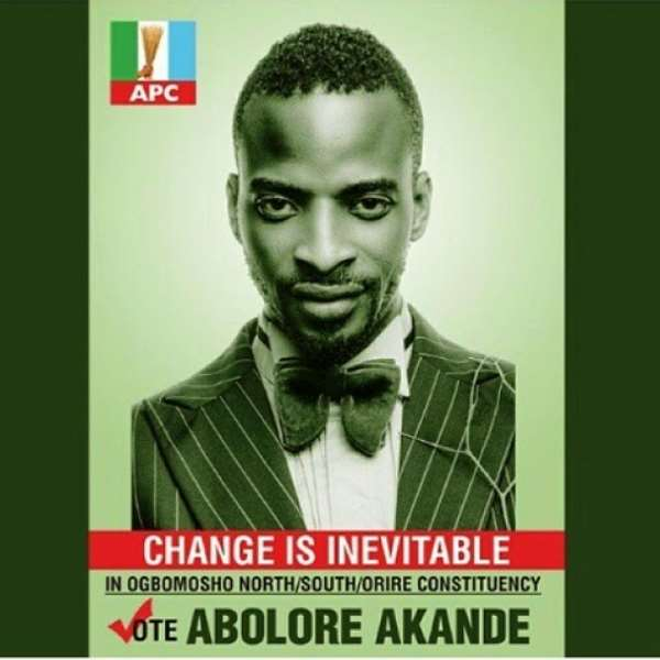 9ice Releases Political Campaign Poster Under APC: See!