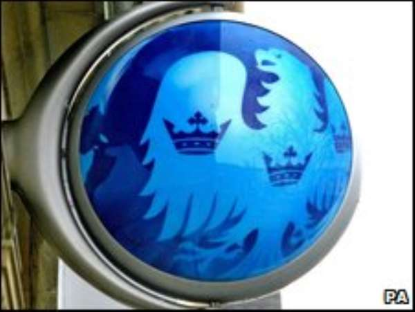 Barclays is the second largest in the UK