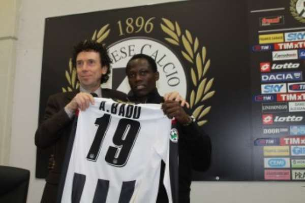 Badu has played his first Udinese game