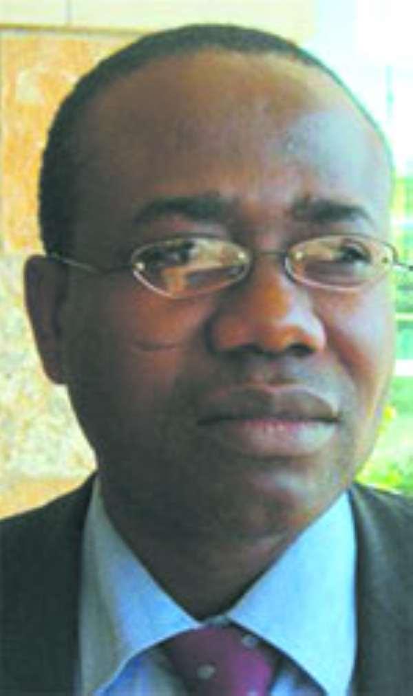 Mr. Kwasi Nyantakyi, GFA president