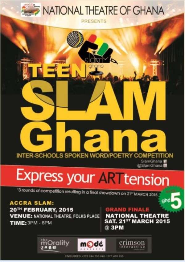 SLAM Ghana Inter-school spoken word competition kicks-off