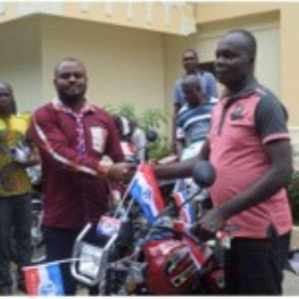 BA NPP Organizer Donates Motorbikes