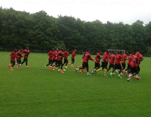 Black Stars to train at the De Kuip Stadium in Rotterdam today ahead of Holland friendly