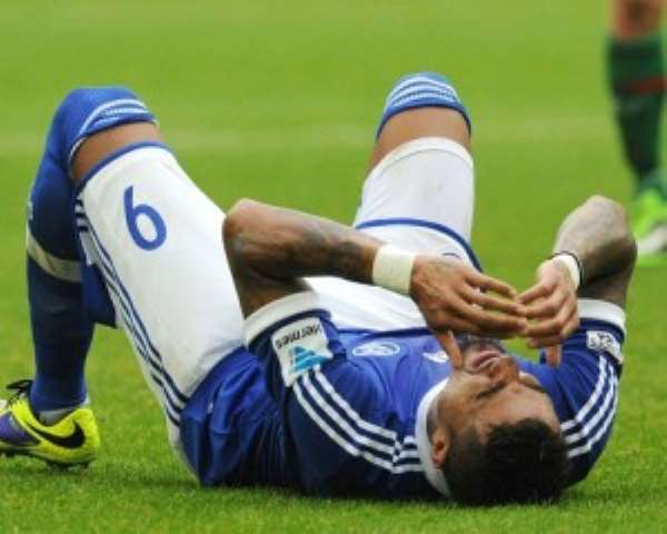 Kevin-Prince Boateng has been ruled out of Ghana-Egypt clash