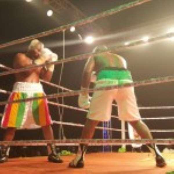Bukom Banku Knocked Out Ayittey Powers