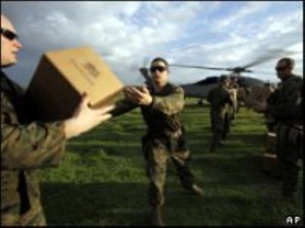 US diverts 4000 Troops to Haiti