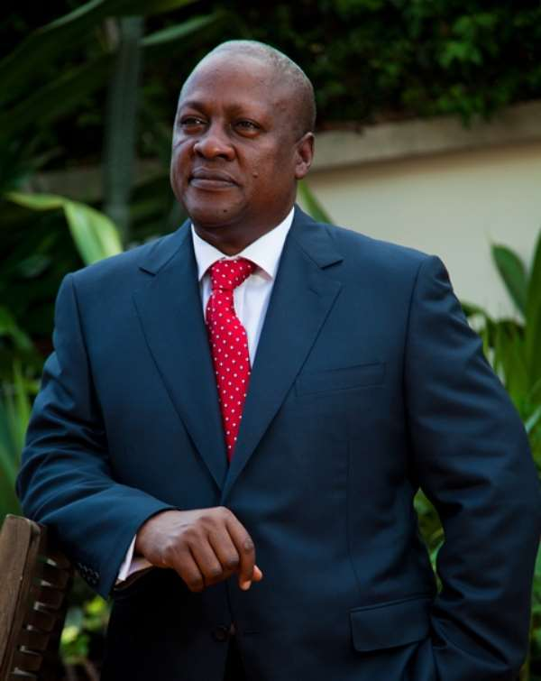 MICROSCOSPIC VIEW OF MAHAMA'S ONE YEAR IN RETROSPECT