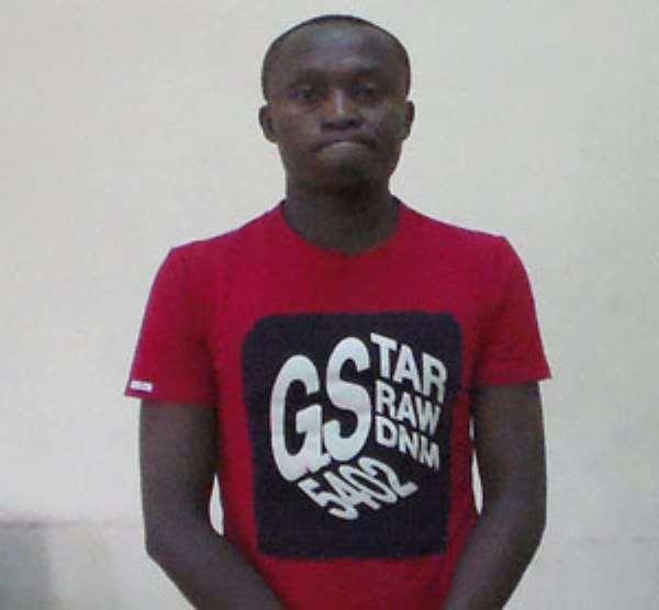 Campus Thief Arrested