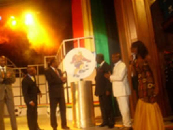 CAN 2008 Global launch, a night of pure African expression